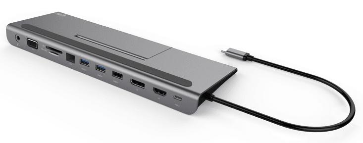I-TEC USB-C 4K Metal Low Profile dokovací stanice PD 85 W C31FLATDOCKPDPLUS