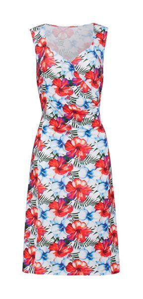 5f01fd20ddda Smashed Lemon Dámské šaty 19274 White Red (Velikost XXL)