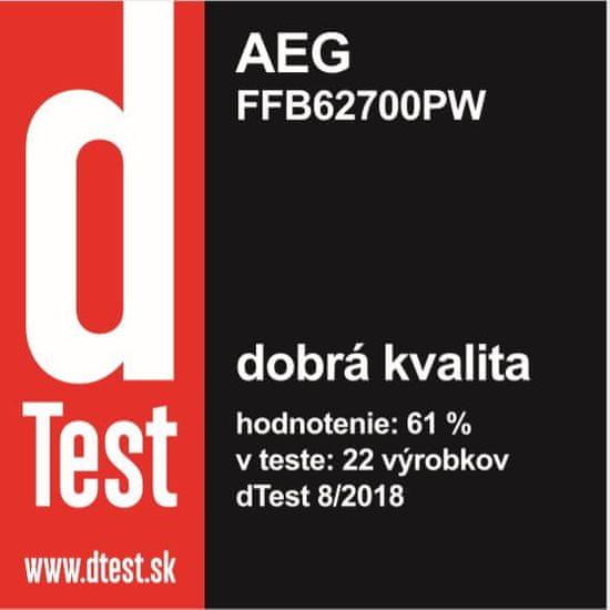 AEG Mastery FFB62700PW + 10 rokov záruka na motor