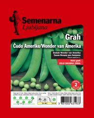 Semenarna Ljubljana grah Wonder van Amerika, 100 g