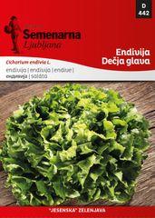 Semenarna Ljubljana endivija Dečja glava, 442, mala vrečka