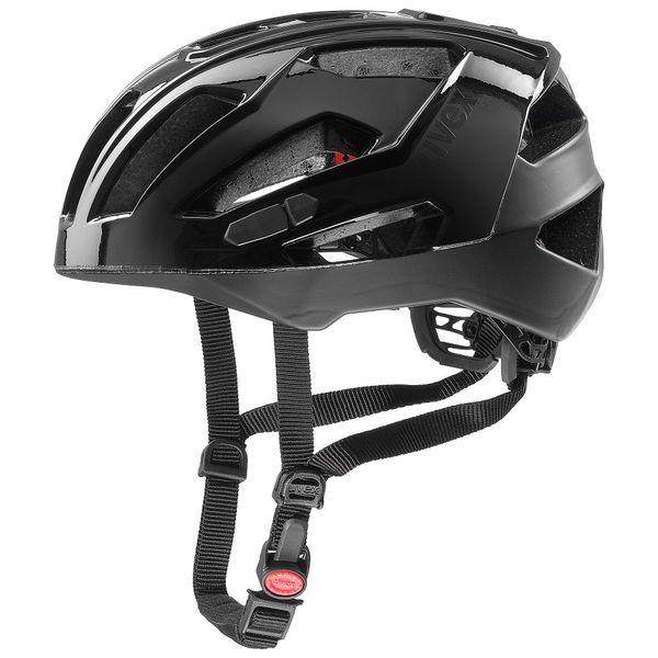 Uvex Quatro XC Black-Black 57-61 cm