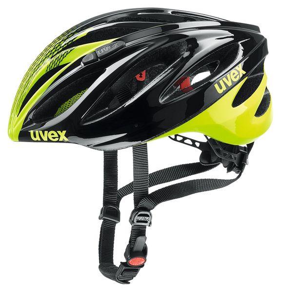 Uvex Boss Race Black/Neon Yellow 55-60 cm