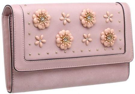 Bessie London dámská peněženka ružová