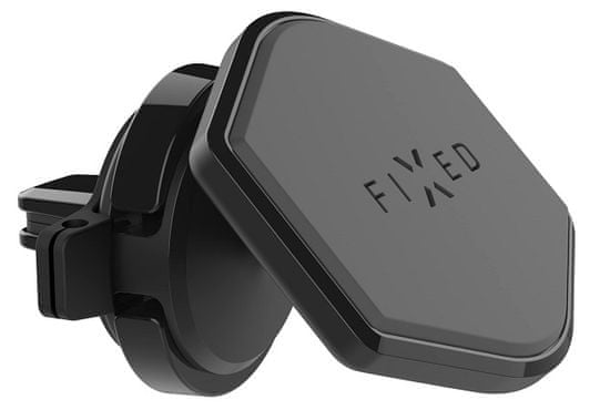 FIXED Magnetický držák IconAir Vent do ventilace s kloubem, černý FIXIC-VENT-BK