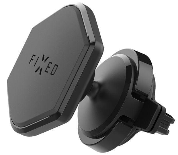 FIXED Magnetický držiak Icon Air Vent do ventilácie s kĺbom, čierny FIXIC-VENT-BK