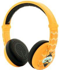 BuddyPhones Wave bezdrátová sluchátka, žlutá