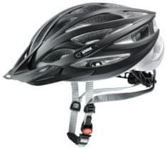 Uvex Oversize kolesarska čelada, črna, 60-65 cm