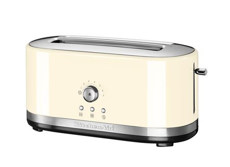 KitchenAid opekač kruha P2 KMT4116EAC Manual Control, kremno rumena