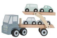 Little Dutch Autopřepravník + 4 autíčka