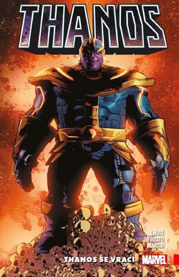 Lemire Jeff: Thanos 1 - Thanos se vrací