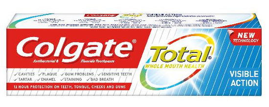 Colgate zubna pasta Total visible action