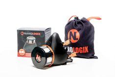 NANOLOGIX Respira Compact 3PACK: polomaska, filtr P2 a sáček na uskladnění