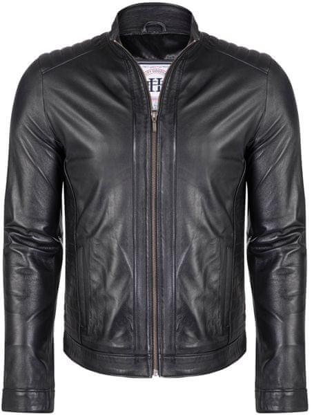 FELIX HARDY pánská kožená bunda M černá