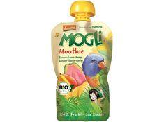 MOGLI Bio Ovocné pyré Moothie banán guava mango bez cukru 100g