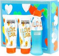 Moschino Cheap & Chic I Love Love -  EDT 50 ml + tělové mléko 100 ml + sprchový gel 100 ml