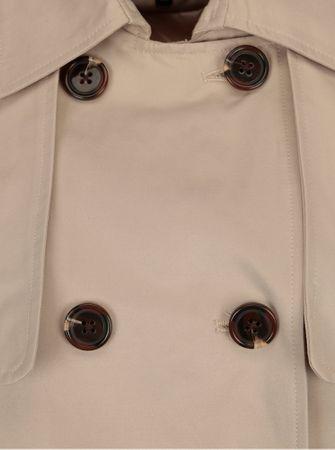 Broadway béžový dámský krátký kabát Breena M - Parametry  701847314f