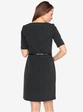 90f197f9596 Vero Moda tmavě šedé žíhané šaty Olivia XL - Parametry