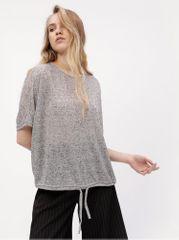 Vero Moda šedé žíhané tričko Pia