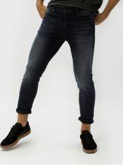 a37ecefe6a2 JUNK de LUXE tmavě modré skinny džíny