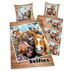 Herding Selfie povlečení s koňmi