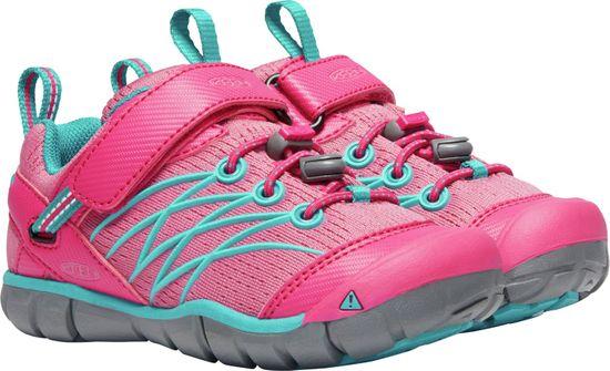 KEEN dekliška obutev Chandler Cnx K Bright Pink/Lake Green