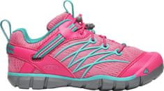 KEEN Lány outdoor cipő Chandler Cnx Y-Bright Pink/Lake Green, US 2 (EU 34)