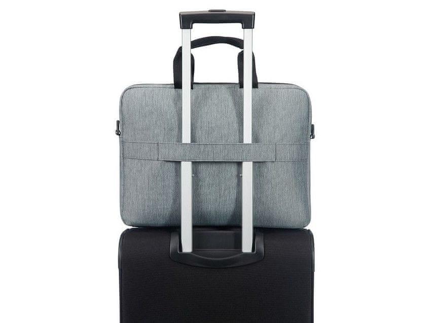 American Tourister City Drift Laptop Bag vállra és bőröndre egyaránt