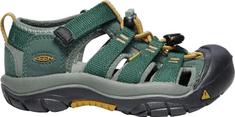 KEEN otroški sandali Newport H2 K Green Gables/Wood Thrush US 10 (EU 27-28), zeleni