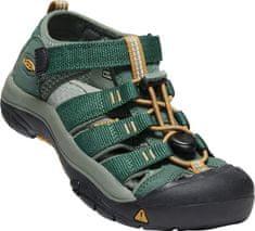 KEEN otroški sandali Newport H2 Y-Green Gables/Wood Thrush US 1 (EU 32-33)