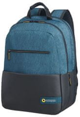 "Samsonite American Tourister City Drift Laptop Backpack 15,6"", černá/modrá 28G*19002"