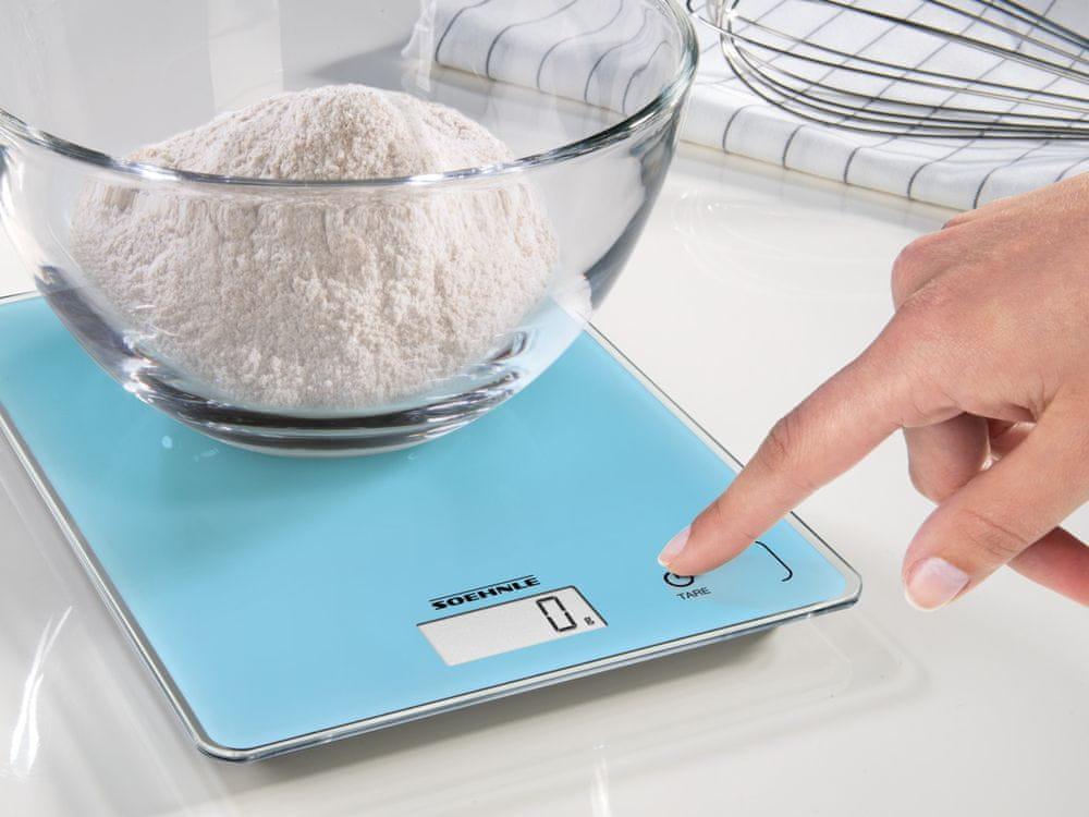 Soehnle Digitální kuchyňská váha Page Compact 300 modrá