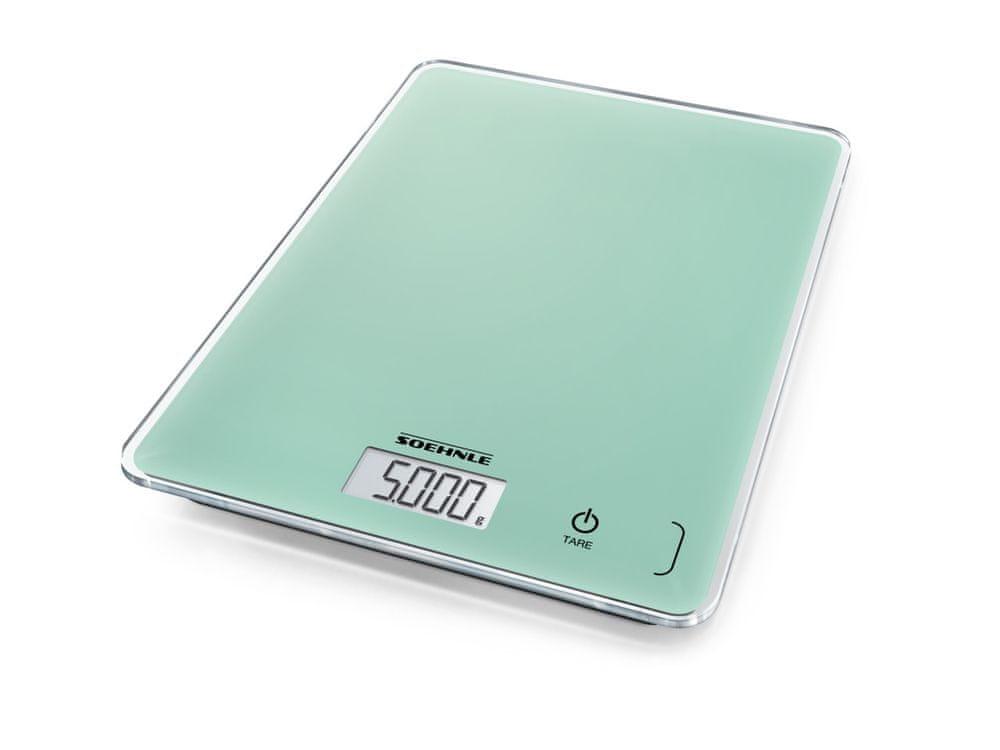 Soehnle Digitální kuchyňská váha Page Compact 300 zelená
