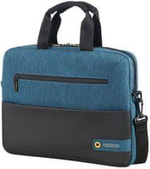 """Samsonite American Tourister City Drift Laptop Bag 13,3""""-14,1"""", černá/modrá 28G*19003"""