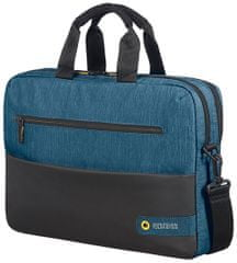 "Samsonite American Tourister City Drift Laptop Bag 15,6"", černá/modrá 28G*19004"