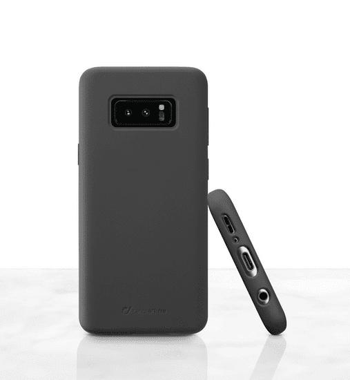 CellularLine ovitek za Galaxy S10e Sensation, črn, silikon