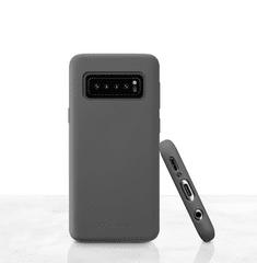 CellularLine ovitek za Galaxy S10+ Sensation, črn, silikon