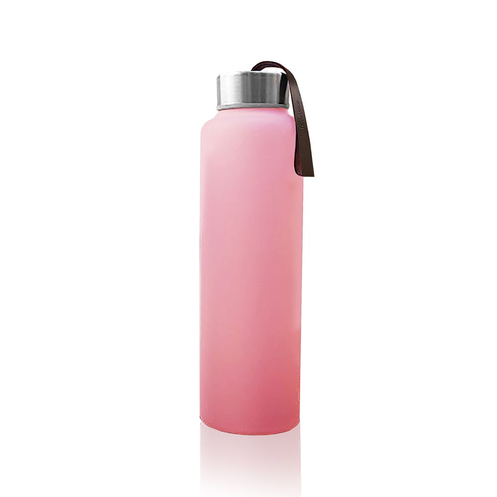 Everyday Baby Láhev sklo na vodu 400ml Rose pink