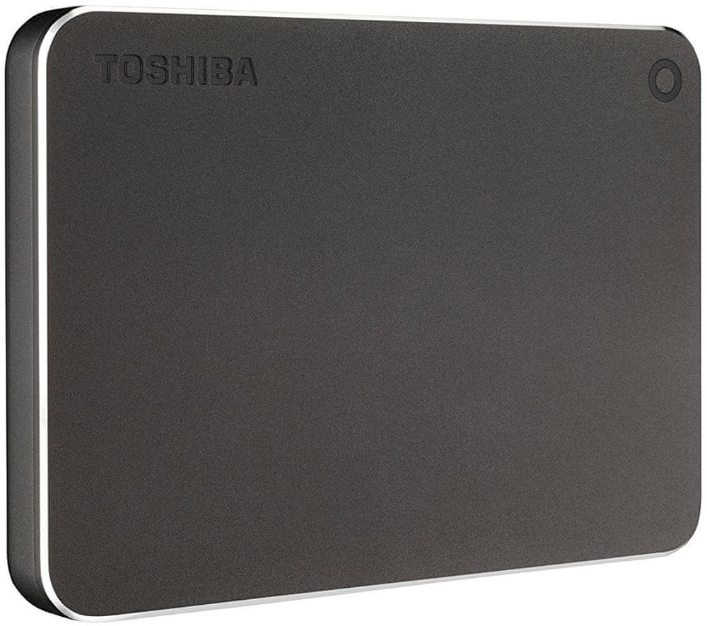 TOSHIBA Canvio Premium - 2TB, tmavě šedá (HDTW220EB3AA)