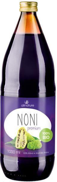 Allnature Noni Premium - 100% Bio šťáva 500 ml