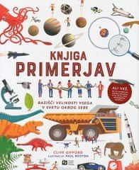 Clive Gifford: Knjiga primerjav: Razišči velikosti vsega v svetu okrog sebe