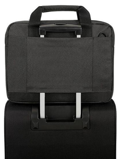 "Samsonite Network 3 Laptop Bag 14,1"" Charcoal Black CC8*19001"