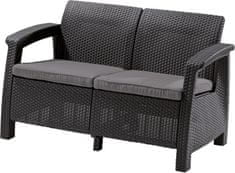 Allibert CORFU LOVE SEAT antracit