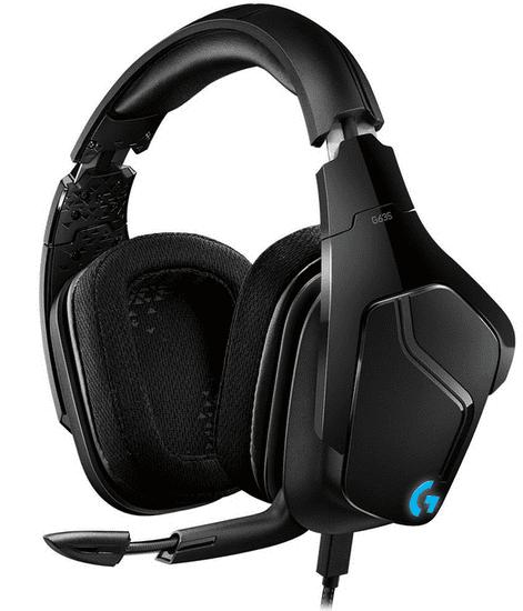 Logitech G635, čierna (981-000750)