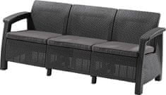 Allibert CORFU LOVE SEAT MAX antracit