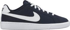 Nike Chlapecké tenisky Court Royale GS obsidian/white - černé
