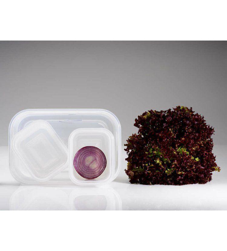 Compactor Aspi Fresh - 5 dílný set plastových vaku dóz na potraviny