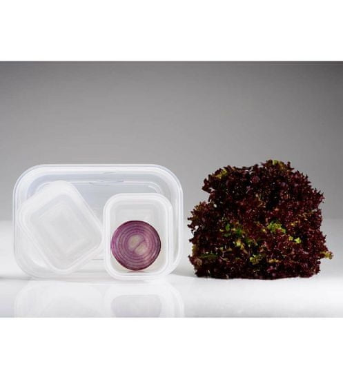 Compactor Aspi Fresh - 5 delni set plastičnih posod za hrano