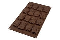 Silikomart Silikonová forma na čokoládu zvířátka safari