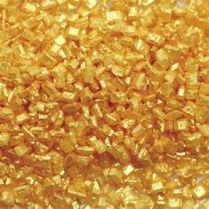 Wilton Zdobící cukr zlatý